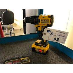 DEWALT CORDLESS DRILL WITH  BATTERY