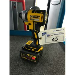 "DEWALT 20 VOLT 1/2"" IMPACT DRILL WITH BATTERY"