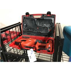 HILTI MODEL WSD 650-A RECIPROCATING SAW AND TE 2-A HAMMER DRILL, NO BATTERIES, NO CHARGER