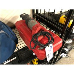 MILWAUKEE CORDED SAWZALL WITH CASE