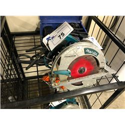 MAKITA CORDED CIRCULAR SAW AND STAPLE GUN