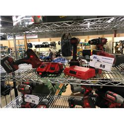 MILWAUKEE TOOLS INC. SAWZALL, HACKZALL, 2 DRILLS AND MORE