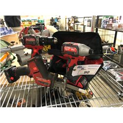 MILWAUKEE TOOLS INC. HACKZALL, 2 DRILLS AND MORE