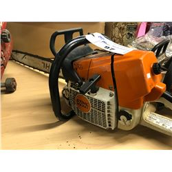 STIHL MS 461 GAS CHAIN SAW, CONDITION UNKNOWN
