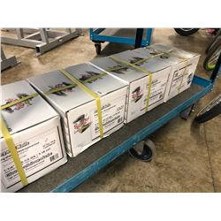 """5 BOXES OF PRO-TWIST 1 1/4"""" DRY WALL NAILS"""