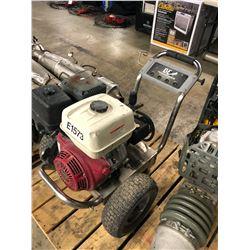 GAS POWERED PRESSURE WASHER, HONDA GX390 MOTOR, CONDITION UNKNOWN