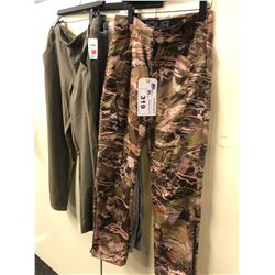 3 ASSORTED PAIRS OF OUTDOOR PANTS