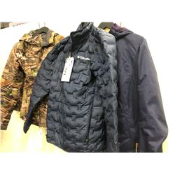 4 ASSORTED OUTDOOR/HUNTING JACKETS