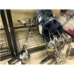 LOT OF GOLF CLUBS AND NIKE BAG, RIGHT HAND