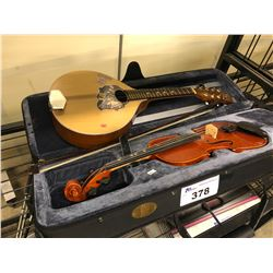 """""""GIVSON"""" SPECIAL MANDOLIN WITH VIOLIN AND CASE"""