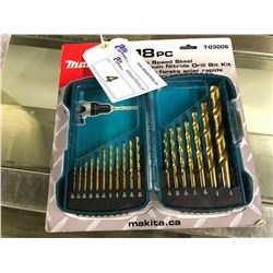 MAKITA 1800 PIECE T-03006 DRILL BIT KIT