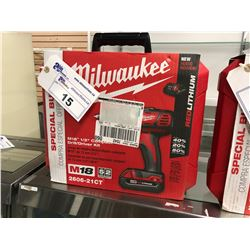 "MILWAUKEE M18 1/2"" COMPACT DRILL/DRIVER KIT"