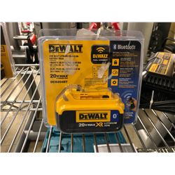 DEWALT 20 VOLT 4 AMP BLUETOOTH BATTERY