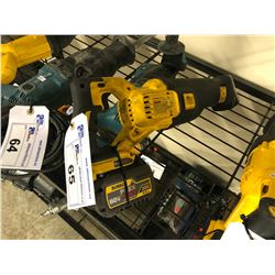 DEWALT CORDLESS 20V RECIPROCATING SAW WITH BATTERY
