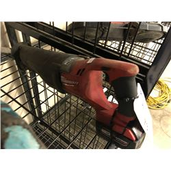 MILWAUKEE CORDLESS M18 SAWZALL WITH BATTERY
