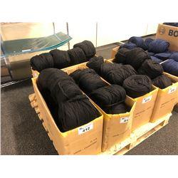 BOX OF BLACK AUSTRALIAN WOOL YARN