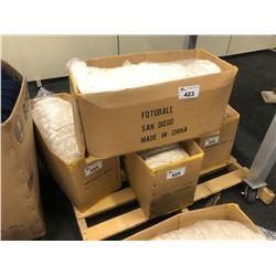 BOX OF WHITE AUSTRALIAN WOOL YARN
