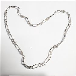 """SILVER CHAIN 18"""" NECKLACE"""