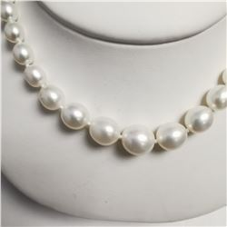GRADUATED FRESH WATER PEARL (4MM -7MM CT) NECKLACE