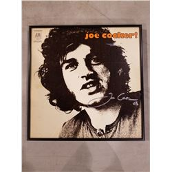 "JOE COCKER (1944-2014) SIGNED AND PROFESSIONALLY FRAMED ""JOE COCKER!"" DEBUT ALBUM WITH"
