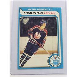 WAYNE GRETZKY 1979-80 O-PEE-CHEE ROOKIE CARD