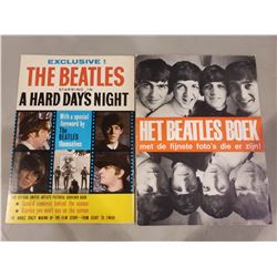 """THE BEATLES COLLECTOR MAGAZINES (2) """"EXCLUSIVE! THE BEATLES STARRING IN A HARD DAY'S NIGHT"""""""