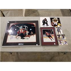 COLORADO AVALANCHE SIGNED MEMORABILIA - PATRICK ROY SIGNED AND PROFESSIONALLY FRAMED 20 X 16