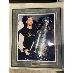 PATRICK ROY SIGNED AND PROFESSIONALLY FRAMED COLORADO AVALANCHE STANLEY CUP 16 X 20 PHOTOGRAPH