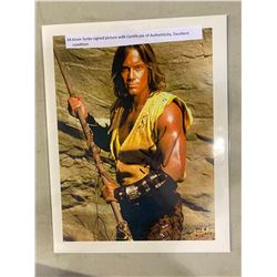 KEVIN SORBO SIGNED PICTURE WITH CERTIFICATE OF AUTHENTICITY. EXCELLENT CONDITION