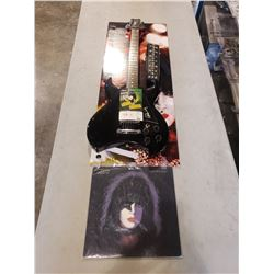 PAUL STANLEY (KISS) SIGNED WASHBURN ELECTRIC GUITAR WITH CERTIFICATE OF AUTHENTICITY. INCLUDES