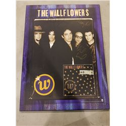 "THE WALLFLOWERS BAND SIGNED ""BRINGING DOWN THE HORSE"" HARD-MOUNTED POSTER WITH CERTIFICATE OF"
