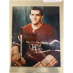 MAURICE RICHARD (1921-2000) SIGNED MONTREAL CANADIANS 16 X 20 PHOTOGRAPH WITH CERTIFICATE OF