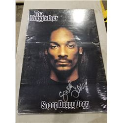 "SNOOP DOGG SIGNED ""THA DOGGFATHER"" POSTER (24X34) WITH CERTIFICATE OF AUTHENTICITY. EXCELLENT"