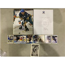BUFFALO SABRES AUTOGRAPHS (11 ITEMS) - INCLUDING ITEMS SIGNED BY GILBERT PERREAULT, PAT LAFONTAINE,