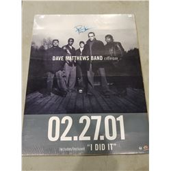 "DAVE MATHEWS SIGNED AND SHRINK WRAPPED ""EVERY DAY"" POSTER WITH CERTIFICATE OF AUTHENTICITY."