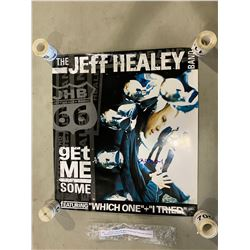 "JEFF HEALEY (1966-2008) SIGNED ""GET ME SOME"" POSTER WITH CERTIFICATE OF AUTHENTICITY. EXCELLENT"