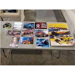 CART RACING AUTOGRAPHS (20+ ITEMS) INCLUDING JIMMY VASSER, ALEXANDRE TAGLIANI, CHRISTIANO DA MATTA,