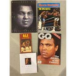 "MUHAMMAD ALI COLLECTION - INCLUDES SPORTS ILLUSTRATED OCTOBER 13, 1975 ""THE EPIC BATTLE"" WITH"