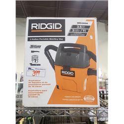 RIGID 3 GALLON PORTABLE WET/DRY VAC WD3050