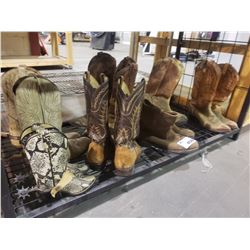 ASSORTED  COWBOY BOOTS