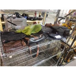 ASSORTED PURSES & BAGS