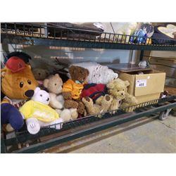ASSORTED TEDDY BEARS & VINTAGE TOYS