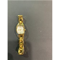 LADIES GOLD TONE FOSSIL WATCH