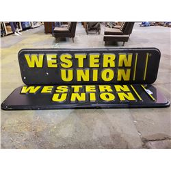 WESTERN UNION SIGNS