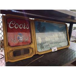 VINTAGE COORS BEER SIGN
