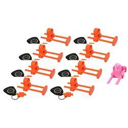 9 x ACU Econo Locks