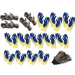 17 x Pair Gloves