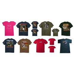 13 x Buck Wear T-Shirts