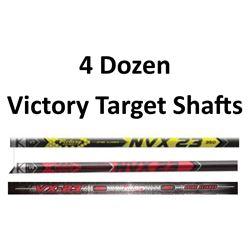 4 Doz VX23 Elite Shafts
