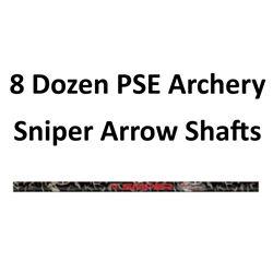 8 Doz. PSE, Sniper Shafts